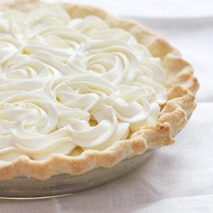 Fresh Coconut Cream Pie